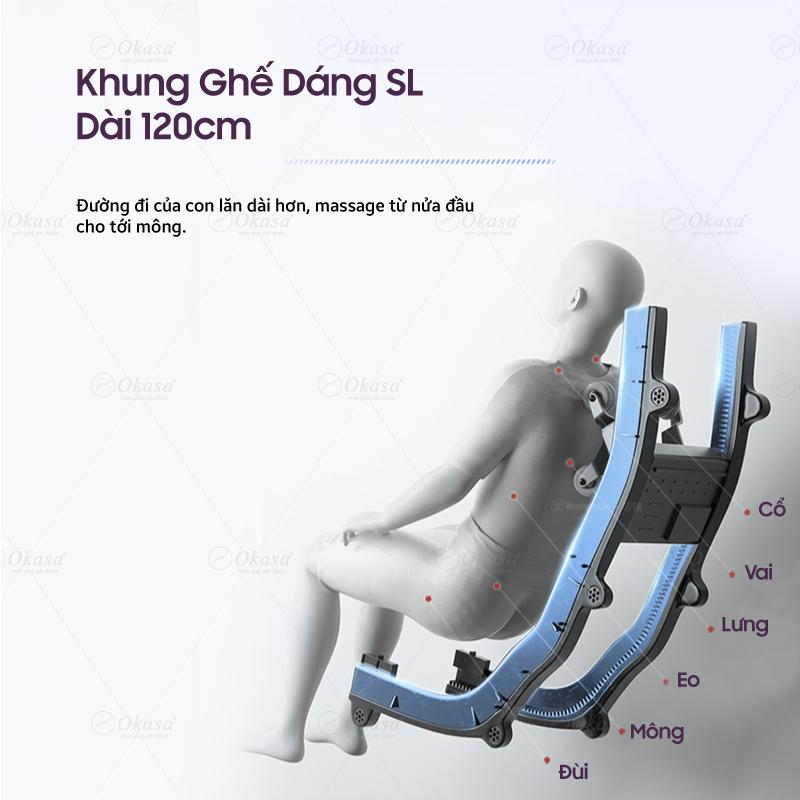 Ghế massage Okasa OS-568 Plus