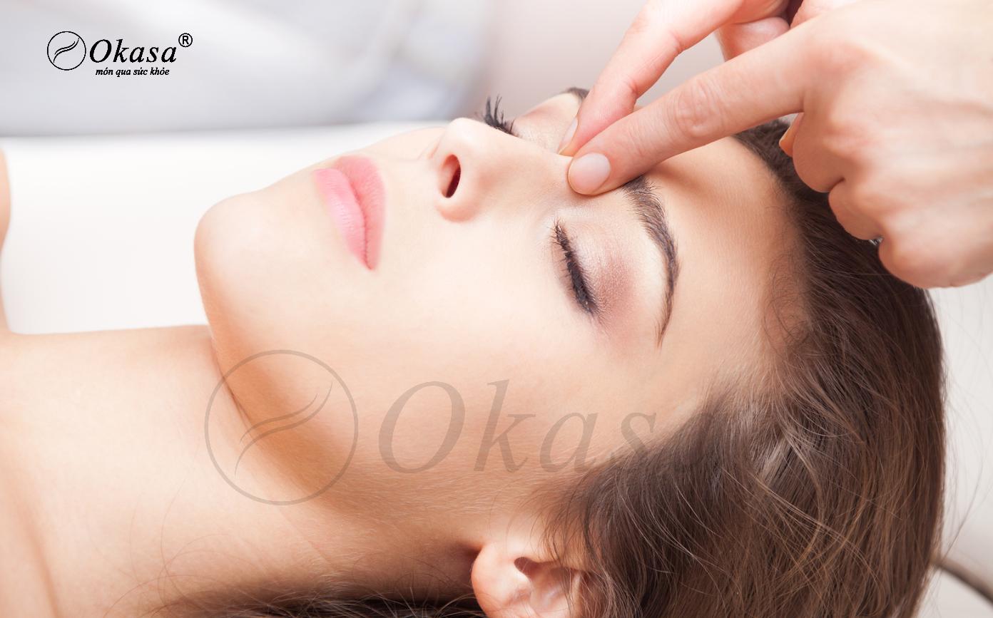 Phương pháp massage bấm huyệt trị chứng hoa mắt, chóng mặt