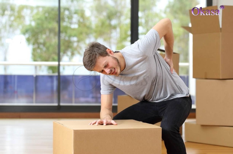 Phòng tránh chấn thương khi nâng vật nặng