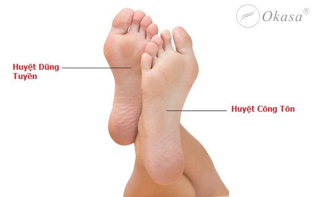 Bí quyết massage bấm huyệt nơi bàn chân tốt cho sức khỏe