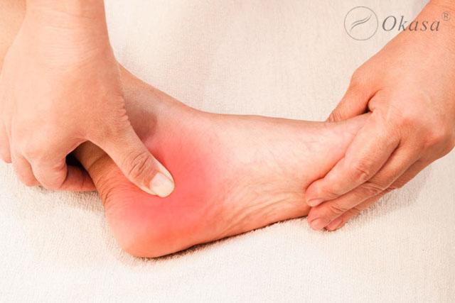 Các bước thực hiện massage chân