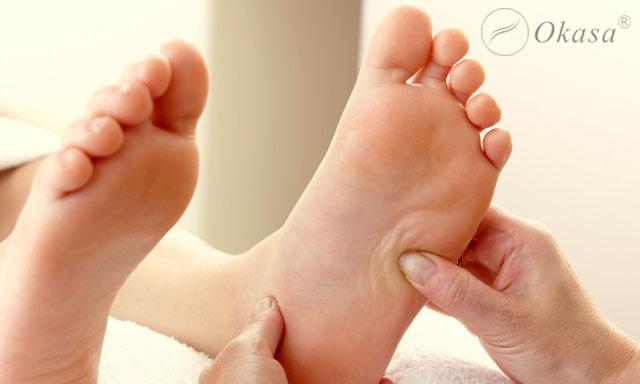 Cách massage bấm huyệt bàn chân trị bệnh