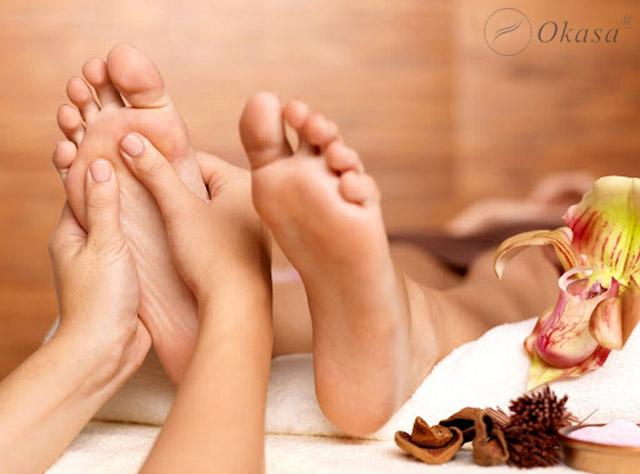 Phương pháp xoa bóp bấm huyệt giảm đau chân
