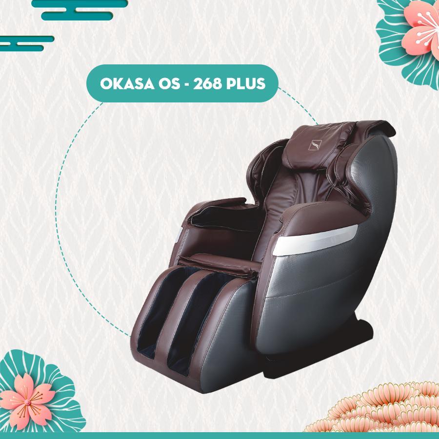 Ghế massage giá rẻ Okasa OS-268 Plus