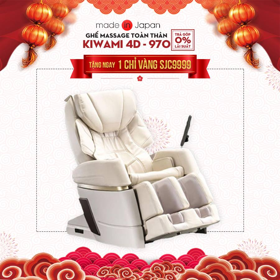 Ghế massage Kiwami 4D-970 Japan