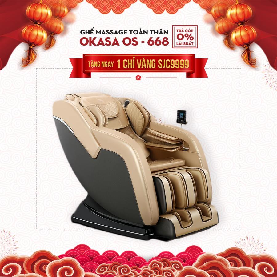 Ghế massage toàn thân Okasa OS-668