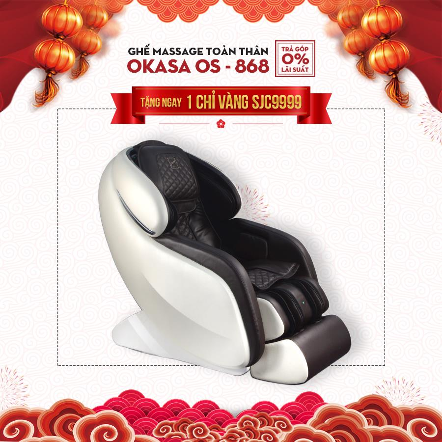 Ghế massage toàn thân Okasa OS-868