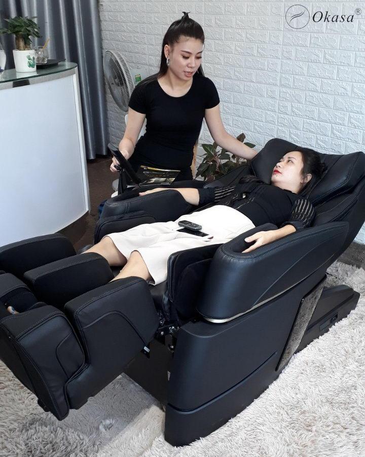 Ghế massage - Quà giáng sinh tặng vợ