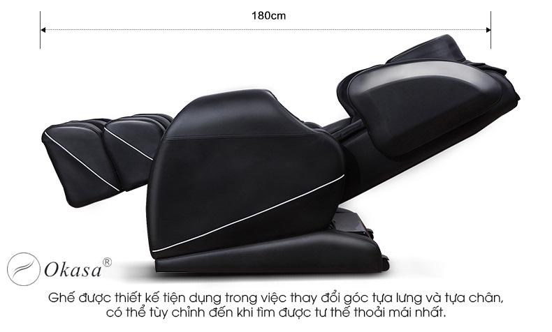 Kích thước chuẩn của ghế massage toàn thân?