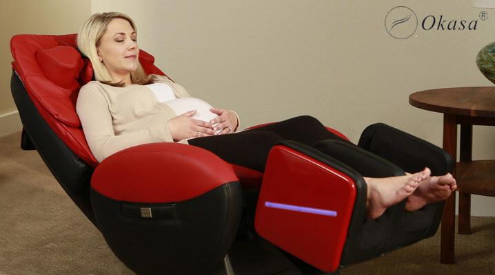 Phụ nữ mang thai có nên sử dụng ghế massage ?