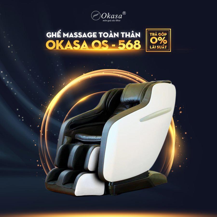 Hướng dẫn sử dụng ghế massage Okasa OS-568