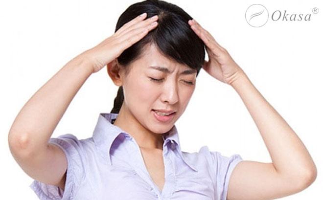 Massage bấm huyệt trị đau đầu nhanh và hiệu quả