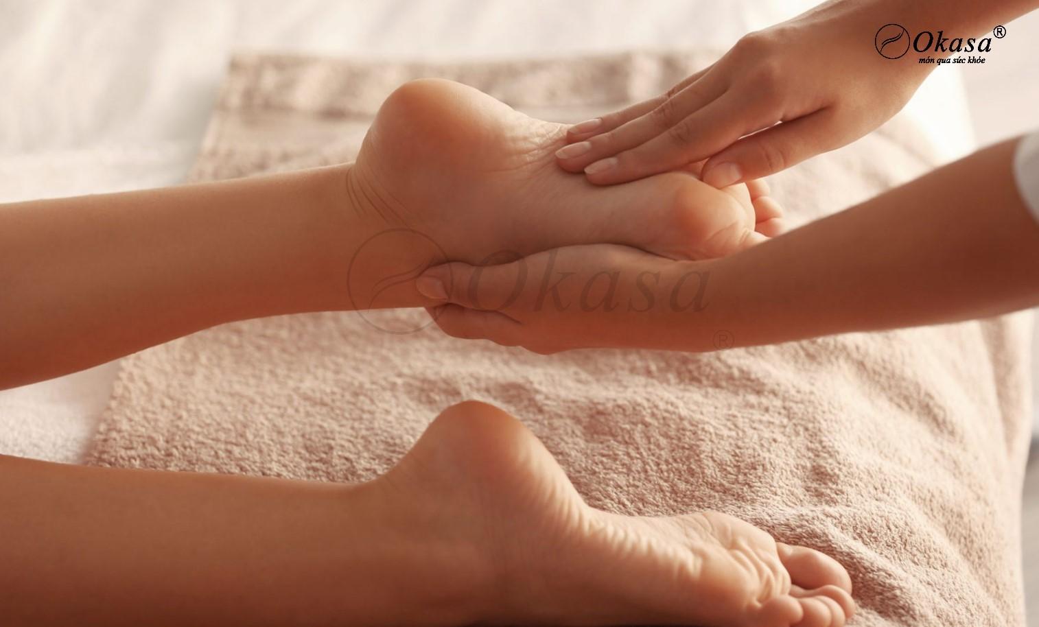 Phương pháp massage bàn chân giúp giảm đau và trị bệnh