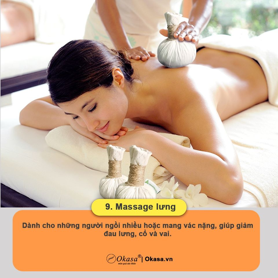 massage lưng