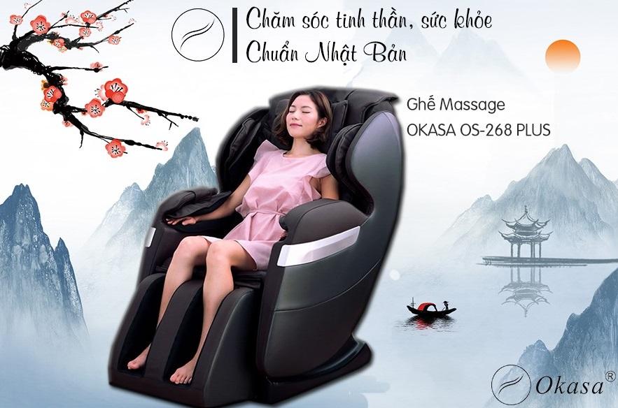 Mát xa trị liệu chữa đau vai gáy với ghế massage tại nhà