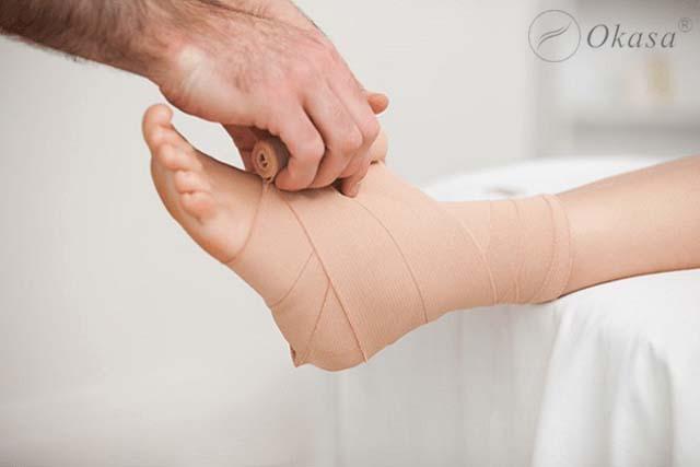 Những điều cần lưu ý khi xử lý chấn thương xương bàn chân