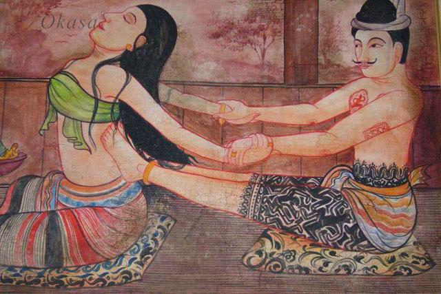 Phương pháp massage Thái Lan