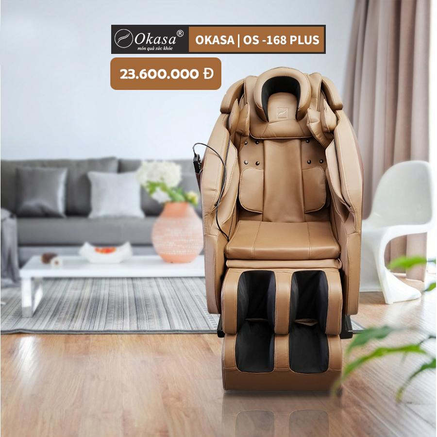 Đánh giá ghế massage toàn thân giá rẻ Okasa OS 168 Plus