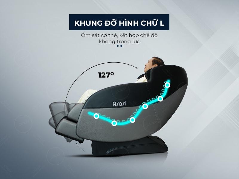 Ghế massage toàn thân Asasi S3