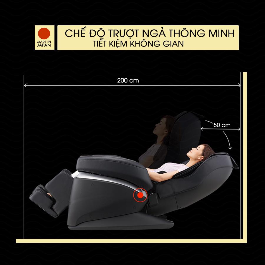 ghế massage toàn thân FUJIIRYOKI JP-870 trượt ngả thông minh