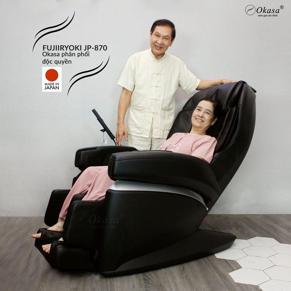 Đánh giá ghế massage Fujiiryoki JP 870