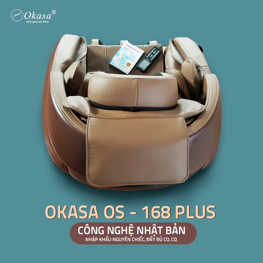Ghế massage Okasa 168 Plus