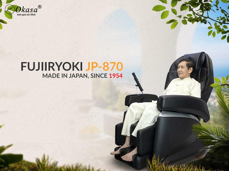 Ghế massage FUJIIRYOKI JP-870