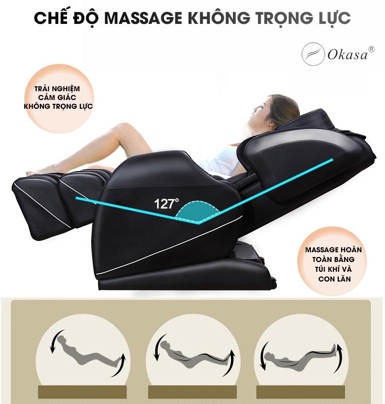 Ghế massage toàn thân Okasa OS-168