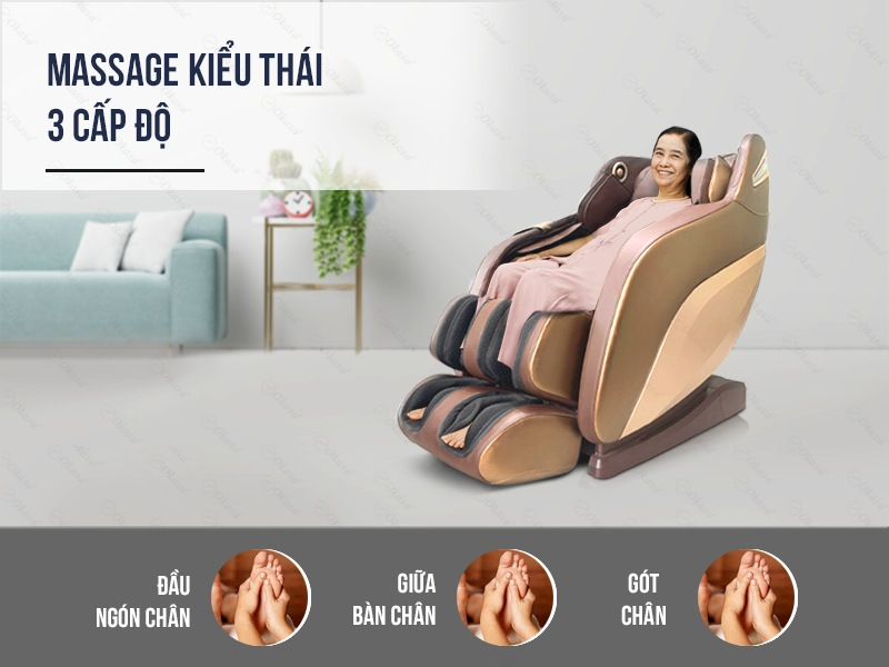 Ghế massage Okasa OS-668 Plus