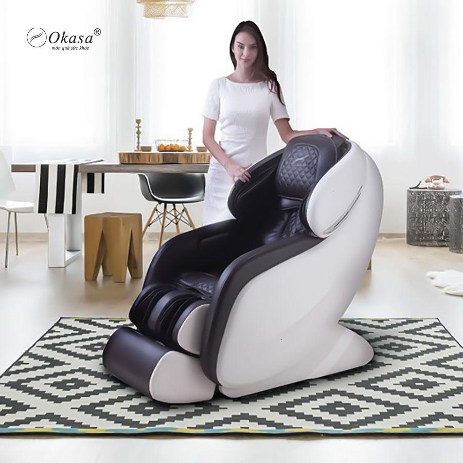 Review ghế massage toàn thân Okasa OS-868