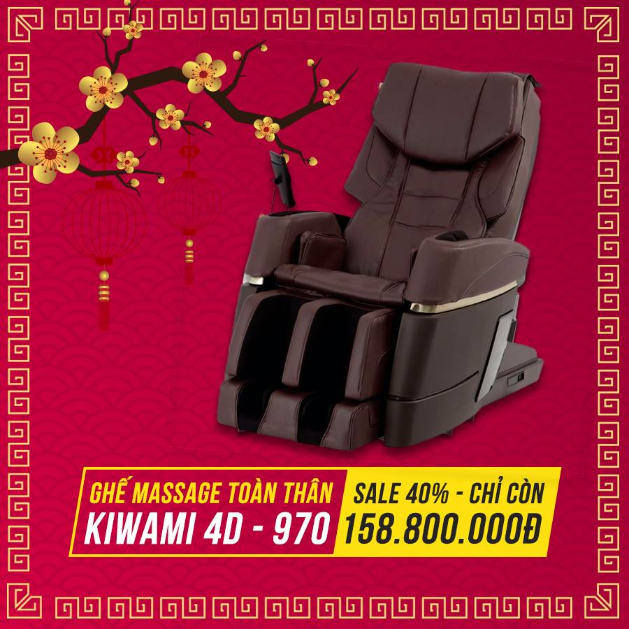 Ghế massage Kiwami 4D-970 Japan