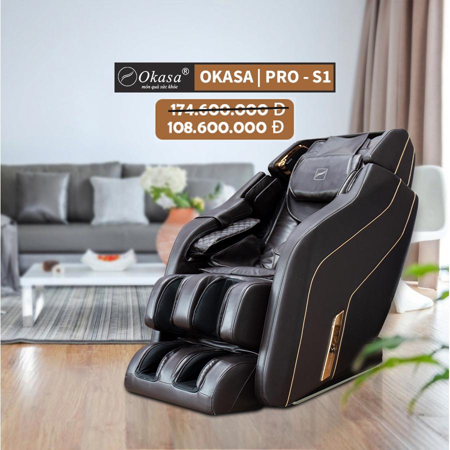 Đánh giá ghế massage cao cấp Okasa Pro S1