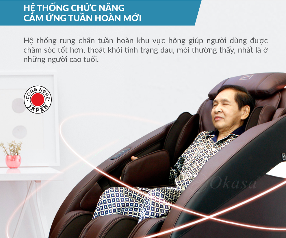 Đánh giá ghế massage toàn thân Okasa OS 468