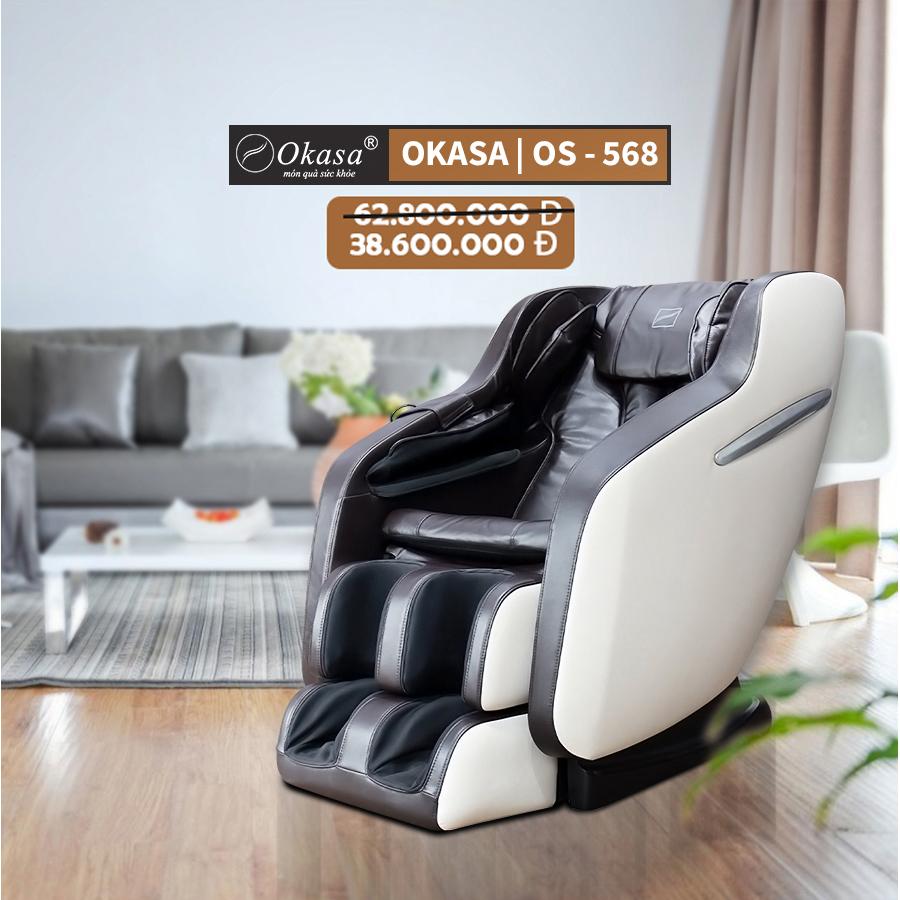 Đánh giá ghế massage toàn thân Okasa OS 568