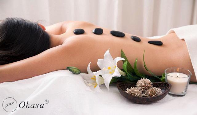 Massage đá nóng và những công dụng cho sức khỏe, sắc đẹp