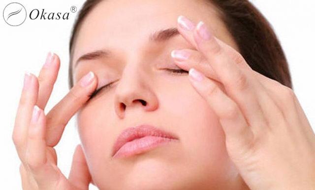 Massage và cách chống khô mắt