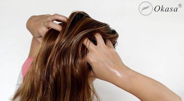 Massage với tinh dầu ngăn ngừa rụng tóc