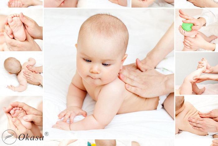 Những điều cần biết khi massage cho trẻ sơ sinh
