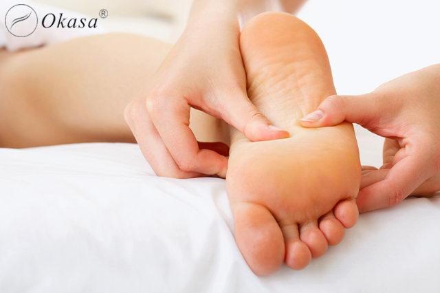 Phương pháp massage chân cho bà bầu