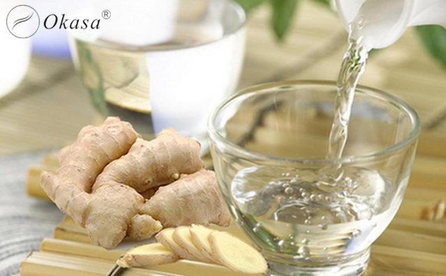 Phương pháp massage giảm mỡ bụng với rượu gừng