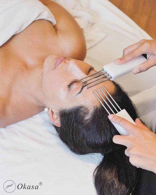 Phương pháp massage mặt bằng dòng điện