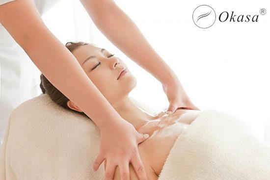 Phương pháp massage ngực cho đẹp hơn