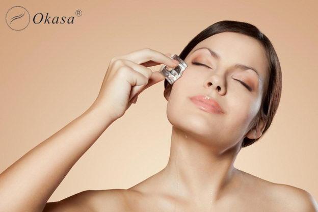 Tự làm 6 loại đá viên massage chăm sóc da đẹp không tì vết