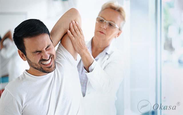 Trật khớp vai có thể bị tái lại