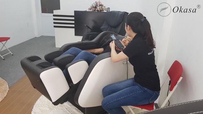 12 lợi ích của ghế massage toàn thân với sức khỏe