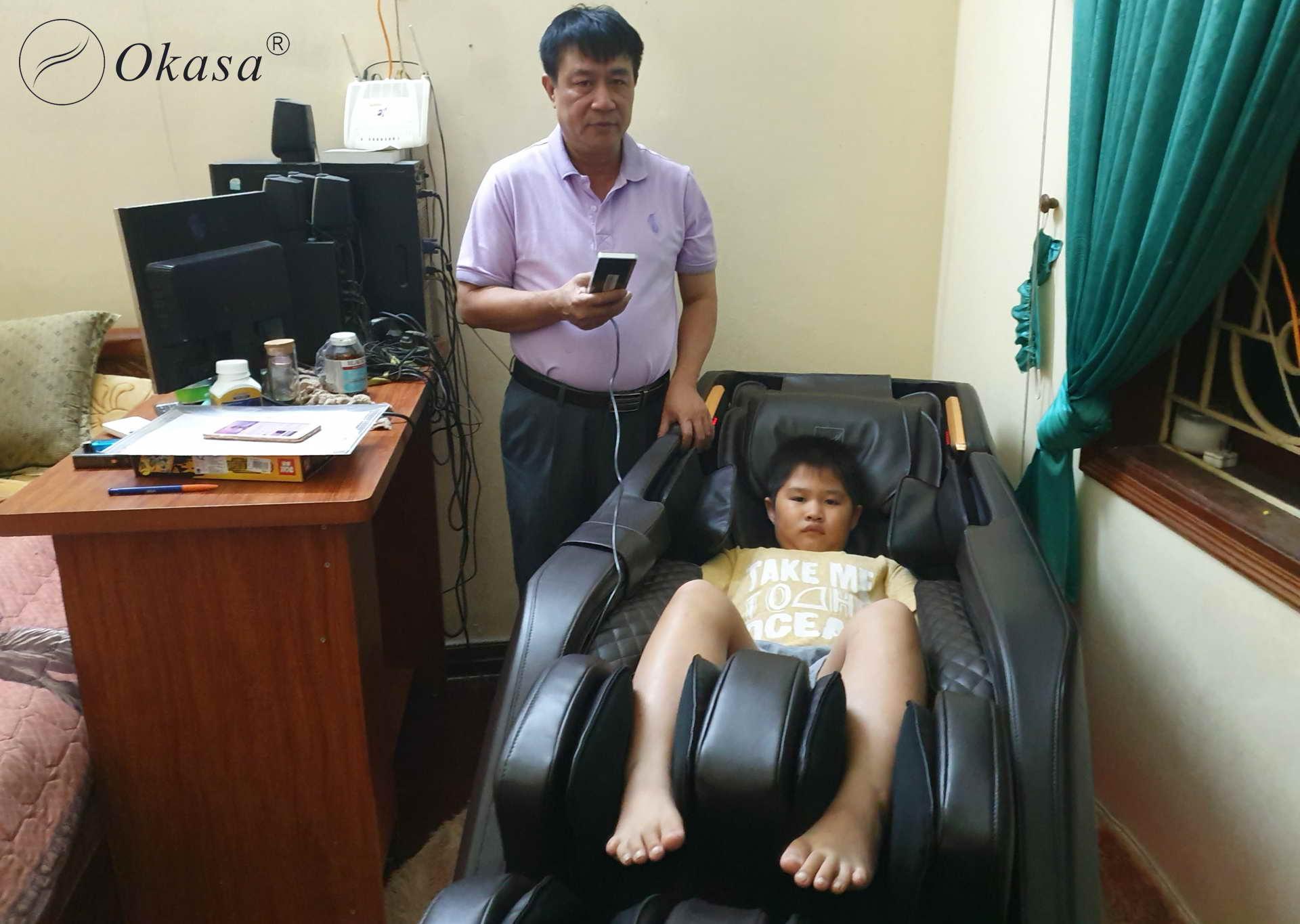 Ghế massage có thể chữa được bệnh?