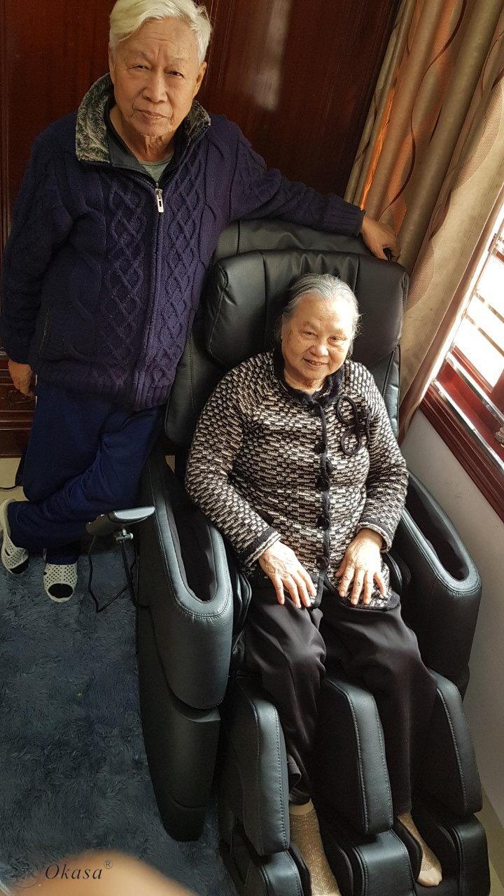 Ghế massage - món quà Tết thay lời muốn nói