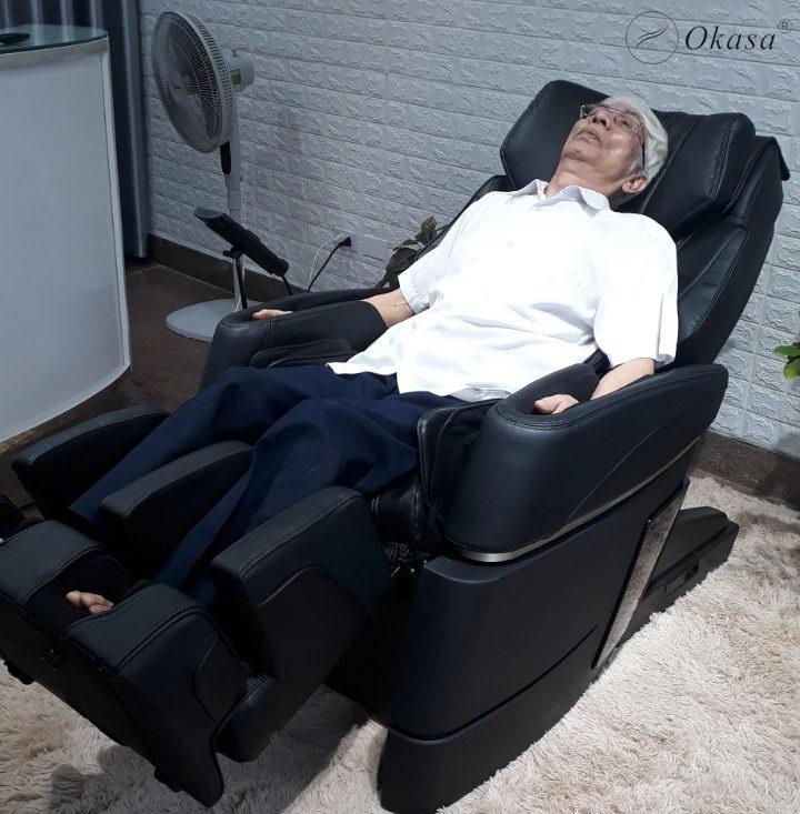 Ghế massage Okasa - Món quà báo hiếu song thân