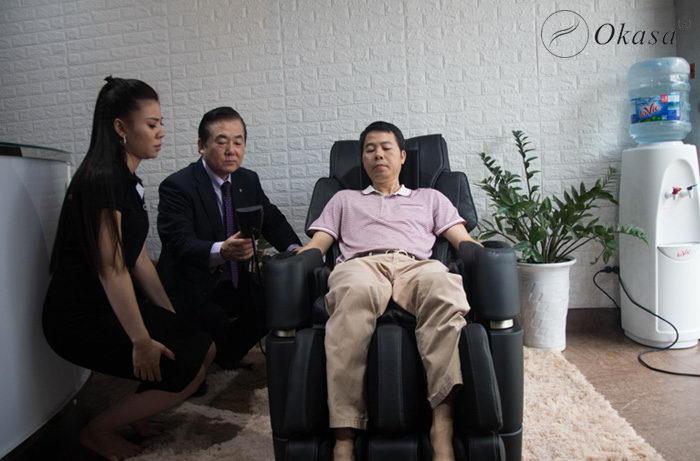 Ghế massage sản xuất tại Nhật có gì hay?