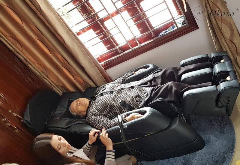 Ghế massage tặng mẹ